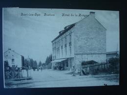 SART-lez-SPA  En 1912 : Hôtel De La  Hoëgne En 1919 - Station - Blegny