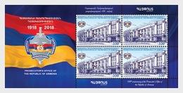 Armenië / Armenia - Postfris / MNH - Sheet Kantoor Officier Van Justitie 2018 - Armenië