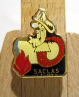 Pin's Pompier - Saclas (Essonne 91690) - Pompiers
