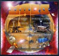 D- [32305] **/Mnh-BURUNDI 2012 - Mars - Curiosity, Espace - Espace