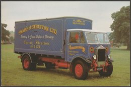 Albion SPP557 5-Ton Box Van - Transicard Postcard - Trucks, Vans &  Lorries