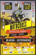 Croatia Jastrebarsko 2018 / Motocross Junior And Senior European Championship / Mladina - Moto