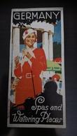 Spas And Watering Places Germany 1936 - Dépliants Touristiques