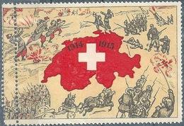 """Vignette  """"Die Schweiz Im 1.Weltkrieg""""        1915 - Schweiz"""