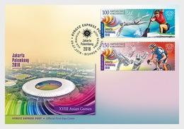 Kirgizië / Kyrgyzstan - Postfris / MNH - FDC Asian Games 2018 - Kirgizië