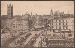 St Augustine's Bridge, Bristol, 1929 - Pelham Series Postcard - Bristol
