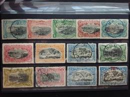 EX CONGO BELGA 1900 - Vedute 13 Valori Misti */timbrati (1 Valore Manca Dente) + Spese Postali - Altri