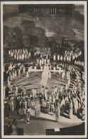 Passion Play, Royal Albert Hall, London, C.1950s - TLC RP Postcard - London