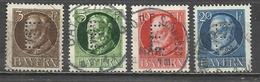 Q696-SELLOS SERIE COMPLETA BAYERN SERVICIO 1914 Nº 12/4.ANTIGUO ESTADO ALEMANIA VALOR YVERT 45,00€ - Bavaria