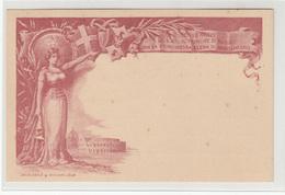Elena Petrovich Di Montenegro Vittorio Emanuele Di Savoia Wedding Illustrated Postal Stationery Postcard Unused B180710 - 1878-00 Humbert I