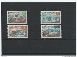 AFARS ET ISSAS 1968 - YT N° 337/340 NEUF SANS CHARNIERE ** (MNH) GOMME D'ORIGINE LUXE - Afars Et Issas (1967-1977)