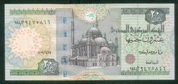 EGYPT / 20 POUNDS / DATE : 29-6-2009 / P- 65 D-k (2) / SIG : OKDA / PREFIX 184 / UNC. - Egypte