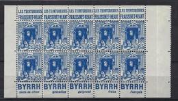 Algérie, Bande Publicitaire, N° 137 ** TB Byrrh, Fraissinet - Neant - Advertising