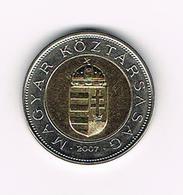 &  HONGARIJE  100 FORINT  2007 - Hungary