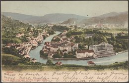 Gesamtansicht, Baden, Aargau, 1901 - Comptoir De Phototypie U/B AK - AG Argovia