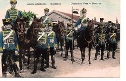 Armée Allemande - Hussards - Guerre 1914-18