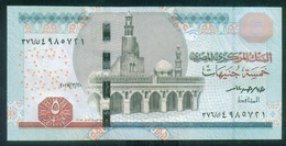 EGYPT / 5 POUNDS / DATE : 20-3-2017 / P- 71(2) / PREFIX : 376 / SIG : AMER / UNC. - Egypte
