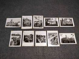 ANTIQUE LOT X 10 SMALL PHOTOS  CITY OF LUXEMBOURG - Pellicole Cinematografiche: 35mm-16mm-9,5+8+S8mm