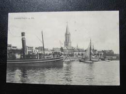 AK EMMERICH Am Rhein Schiff 1912 //  D*33196 - Emmerich