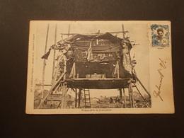 Carte Postale - COCHINCHINE - Cap St Jacques - Préparatifs De Crémation - 1905 (2306) - Viêt-Nam