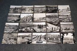 ANTIQUE LOT X 20 SMALL PHOTOS SWITZERLAND - MONT BLANC ALPS  VIEWS - Filme: 35mm - 16mm - 9,5+8+S8mm