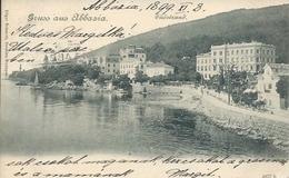 Postcard RA009121 - Croatia (Hrvatska) Opatija (Sankt Jakobi / Abbazia) - Croatia
