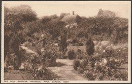 Rock Garden, Old Mill Gardens, Wannock, Sussex, C.1920s - Gladding & Thomas Postcard - England