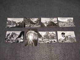 ANTIQUE LOT X 10 SMALL PHOTOS SWITZERLAND - GRINDELWALD VIEWS - Filmspullen: 35mm - 16mm - 9,5+8+S8mm