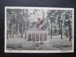 AK TREBBIN Kr. Teltow Kriegerdenkmal  Ca.1940//  D*33207 - Trebbin