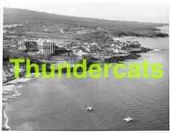 GRAND PHOTO DE PRESSE HAWAII ANNEES '70  LARGE HAWAIIAN  PRESS PHOTO 26 CM X 20 CM HOTEL MAUI INTER CONTINENTAL - Orte
