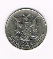 &  NAMIBIA  50 CENTS   1991 - Namibia