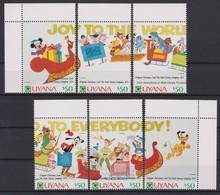 2311-   WALT DISNEY - GUYANA  ( Christmas 1991 ) Original Christmas Card The Walt Disney Company II . - Disney
