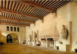 Salle Des Gardeset Des Mercenaires Chateau De PIERREFONDS   50   (scan Recto-verso)MA1935Ter - Pierrefonds