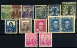 3328-Chile Nº 145/50, 151/55 - Chili