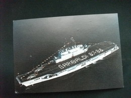 NAVE SHIP  GUERRA INCROCIATORE P.A. G. GARIBALDI ELICOTTERI SUL PONTE - Guerre