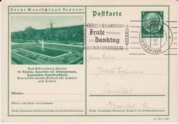 DR 3 Reich Ganzsache P 238 Bildpostkarte Dürrenberg M Windmühle MWSt Erntedank 1937 (1) - Deutschland