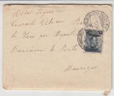Italy, Letter Cover Travelled 1916 Pieve Di Teco Pmk B180710 - 1900-44 Vittorio Emanuele III