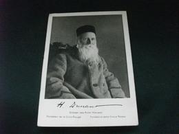 CROCE ROSSA HENRI DUNANT 1828 1928 GRUNDER DES ROTEN KREUZES FONDATORE CROCE ROSSA RARA - Croce Rossa