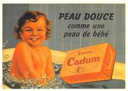 PUB Publicité NUGERON J 91 PEAUDOUCE Comme Une Peau De Bébé Savon CADUM  (-Bibliothéque Fornay*PRIX FIXE - Advertising