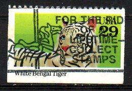 USA. N°2119 Oblitéré De 1992. Tigre. - Roofkatten