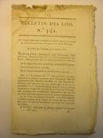 BULLETIN DES LOIS DE 1811 - AMPLEPUIS CONSEIL PRUD'HOMMES - HOLLANDE - CHARBON - COSTUMES COURS TRIBUNAUX - GARE COLOGNE - Décrets & Lois