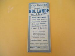Carte TARIDE/n° 38/ HOLLANDE/Carte  Pour Le Tourisme/Portefeuille/Paris/Gaillac-Monrocq/ Vers 1930-40      PGC195 - Cartes Routières