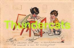 CPA ILLUSTRATEUR M JACOBS STYLE GERMAINE BOURET ARTIST SIGNED CHILDREN - Autres Illustrateurs