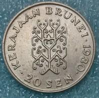 Brunei 20 Sen, 1980 -0595 - Brunei