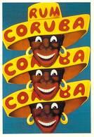 PUB Publicité NUGERON J 102 CORUBA RUM  (Rhum) (-Bibliothéque Fornay*PRIX FIXE - Advertising