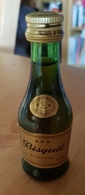 Rare Ancienne Mignonnettes De Fine  Cognac Bisquit 3 étoiles - Mignonettes