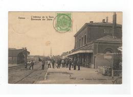 Deinze - L'Intérieur De La Gare - Binnenste Der Statie (lichte Ouderdomsverschijnselen Rechts Zie Scan) - Deinze