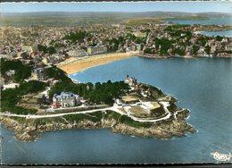 CPSM - DINARD - Vue Aérienne - Pointe Du Moulinet Et La Plage - Dinard