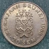 Brunei 20 Sen, 1988 -4082 - Brunei