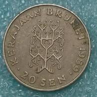 Brunei 20 Sen, 1989 -1148 - Brunei